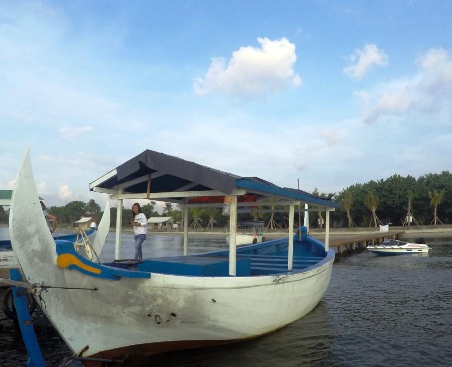 Perahu Tradisional Jepara Ourland Park - JOP.