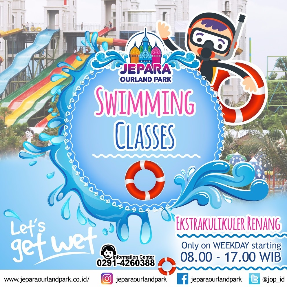 Swimming Classes Jepara Ourland Park