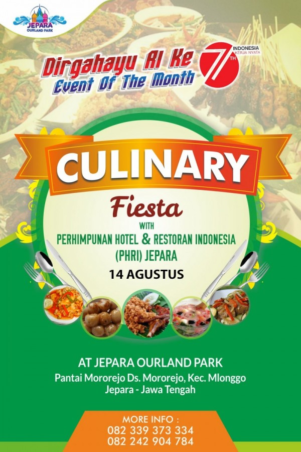 Culinary Fiesta With PHRI Jepara At Jepara Ourland Park